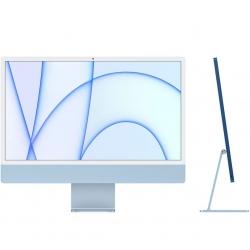 Apple iMac 24'' Retina 4,5K M1 8-Core GPU 8-Core 512GB con 8GB di RAM - Blu