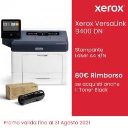 Xerox VersaLink B400 DN con Toner Nero Standard + Rimborso 80 Euro da Xerox FINO AL 31/08/2021