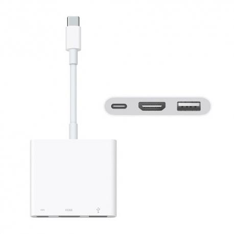 ADATTATORE MULTIPORTA DA USB-C A AV DIGITALE