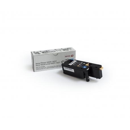 Xerox Cartuccia toner Ciano a Standard da 1.000 pagine per Phaser 6020 6022 WorkCentre 6025 6027 (106R02756)