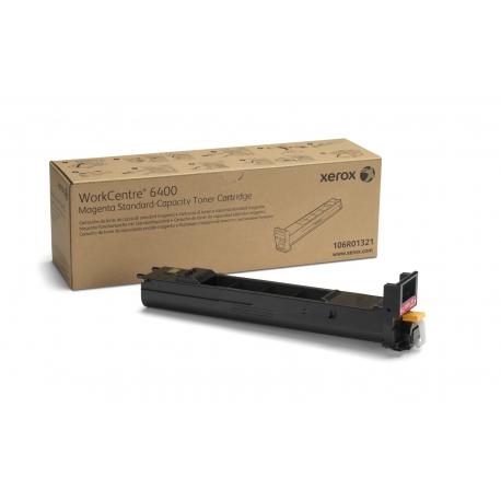 Xerox Cartuccia toner Magenta a Standard da 8000 pagine per WorkCentre 6400 (106R01321)