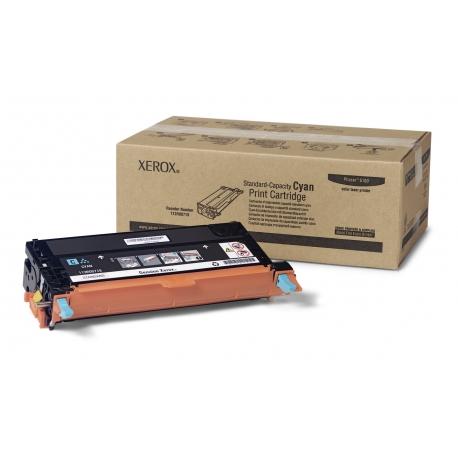 Xerox Cartuccia toner Ciano a Standard per Phaser 6180 6180MFP (113R00719)