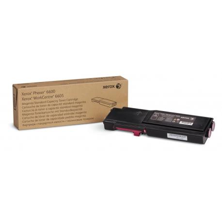 Xerox Cartuccia toner Magenta a Standard da 2.000 pagine per Phaser 6600 WorkCentre 6605 (106R02246)