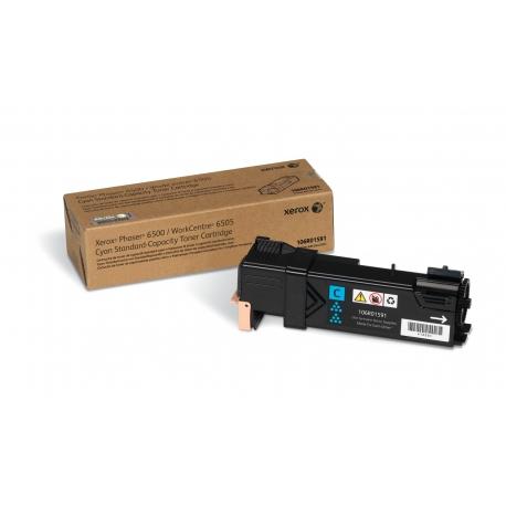 Xerox Cartuccia toner Ciano a Standard da 1.000 pagine per Phaser 6500 WorkCentre 6505 (106R01591)