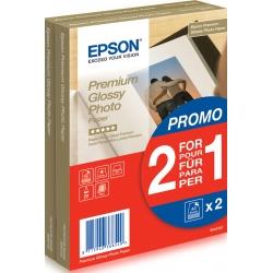 Epson Premium Glossy Photo Paper - 10x15cm - 2x 40 Fogli