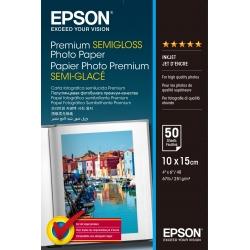 Epson Premium Semi-Gloss Photo Paper - 10x15cm - 50 Fogli