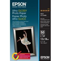 Epson Ultra Glossy Photo Paper - 13x18cm - 50 Fogli