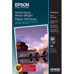 Epson Matte Paper Heavy Weight - A4 - 50 Fogli