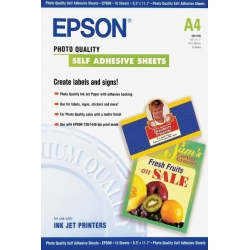Epson Self-Adhesive Photo Paper - A4 - 10 Fogli