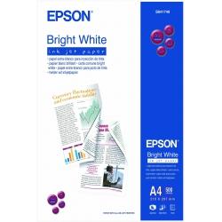Epson Bright White Inkjet Paper - A4 - 500 Fogli