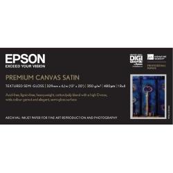 Epson Premium Canvas Satin, in rotoli da 33,02 cm (13'') (A3+) x 6m