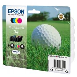 Epson Golf ball Multipack 4-colours 34 DURABrite Ultra Ink