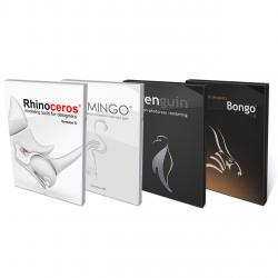 Rhinoceros 5.0, Flamingo, Penguin, Bongo Bundle Windows