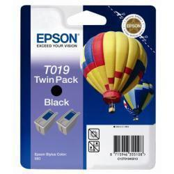 TWIN PACK T019 2 CARTUCCE NERE