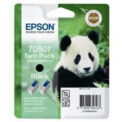 TWIN PACK T0501 2 CARTUCCE NERO