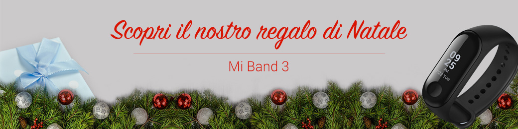 Regalo Natale Xerox Mi Band 3