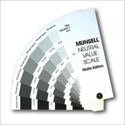 Munsell Matte Neutral Value Scale-Matte Finish