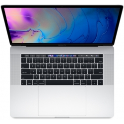 """Apple MacBook Pro 15"""" Touch Bar, 6-Core i7 2.6Ghz, 512GB, Argento"""