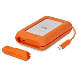LaCie 4TB Rugged Thunderbolt & USB-C
