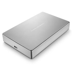 LaCie 5TB PORSCHE DESIGN 2.5 P'9223 USB 3.1 SILVER TYPE C